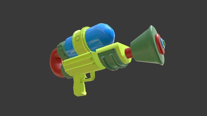 Splattershot 3D Model