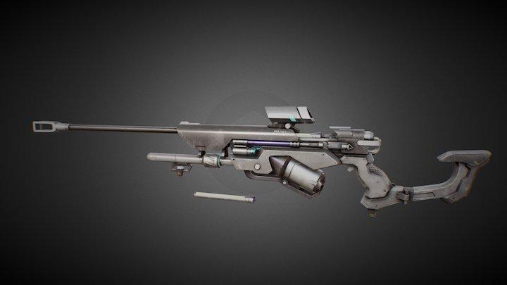 AnaWeapon Biotic Rifle 3D Model