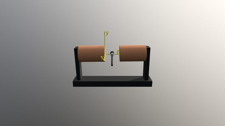 NMR Elrendezes 3D Model