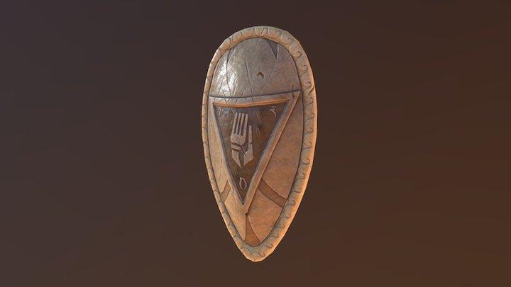 Indoril Shield A 3D Model