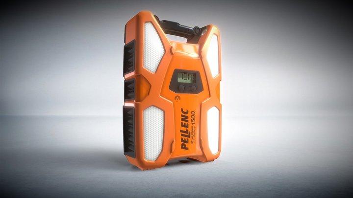 Batterie ULIB 1500 3D Model