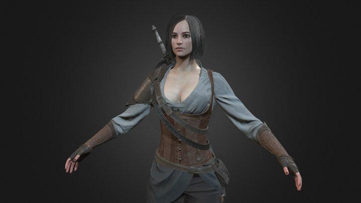 Anastasia 3D Model