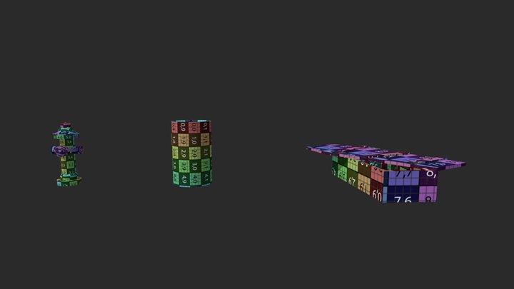 DraftPunk HW #13 3D Model