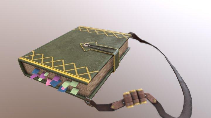 MHW Book 3D Model