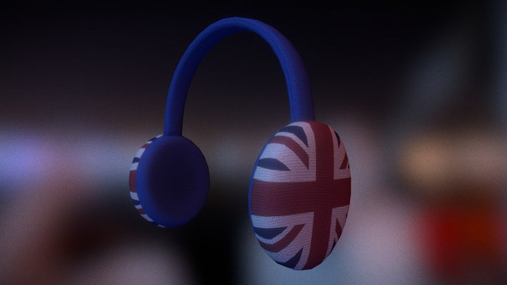 Royal Winter Earmuffs 3D Model