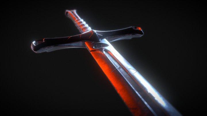 The Black Sword 3D Model