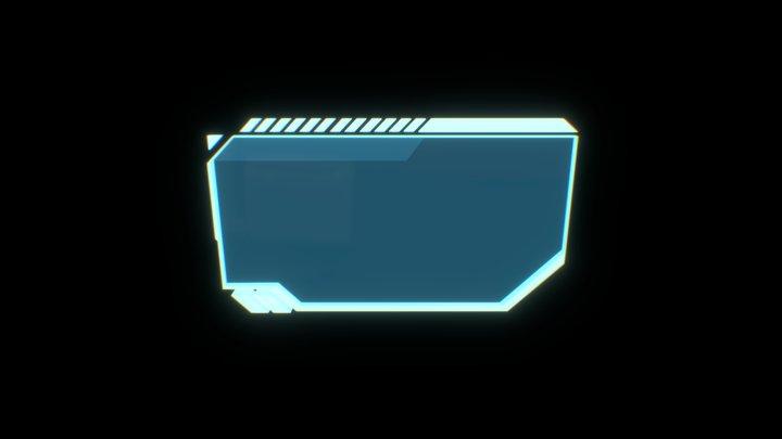 HUD Screen Element 3 3D Model