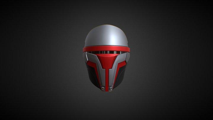Darth Revan's Mask 3D Model