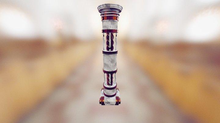 Mechanical Doric Column 3D Model