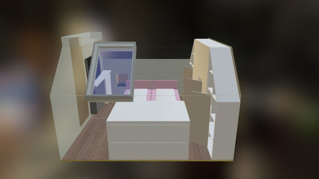 Nieuwe Kamer 3D Model
