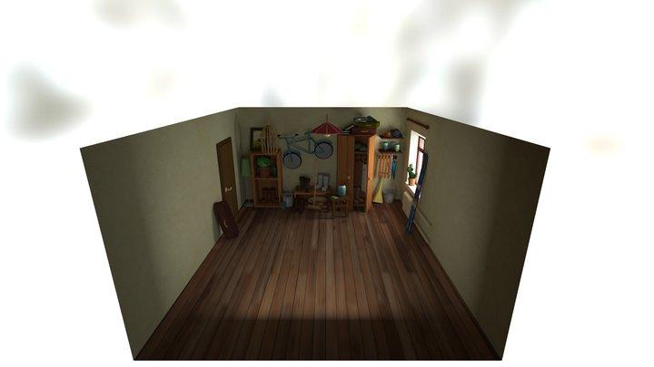 FliesRoomsfsfsdasdasd 3D Model