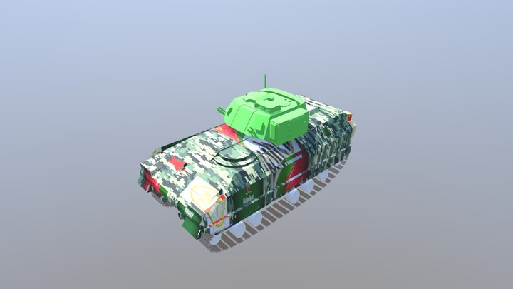 "M3 Bradley ""No Gun"" 3D Model"