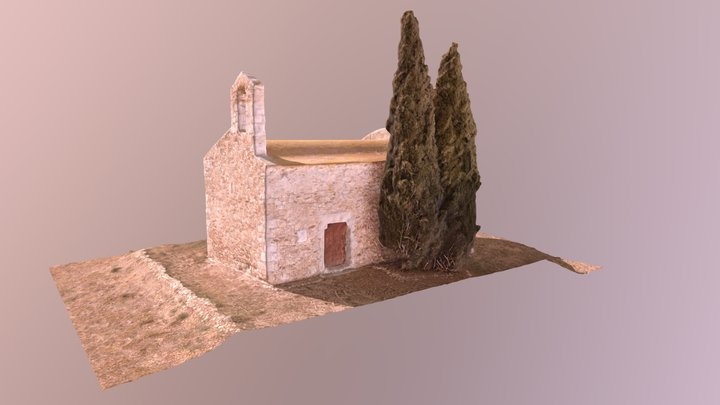 Ermita de Sant Nazari de les Olives 3D Model