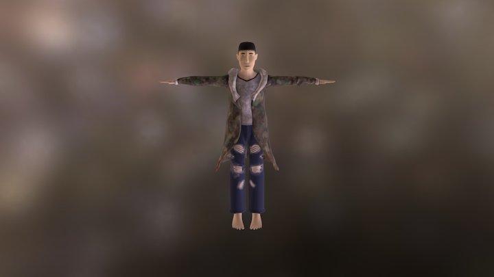 Asian Tony 3D Model