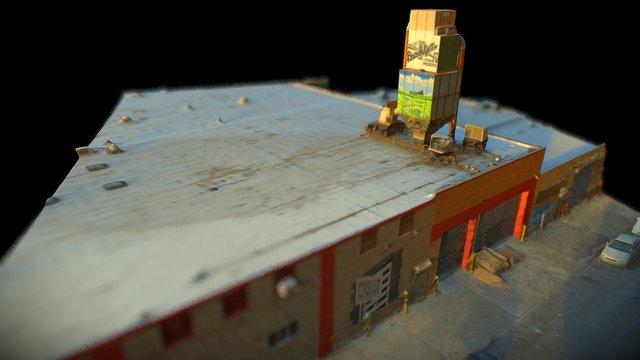 Meadow Street Tower, Brooklyn 3D Model