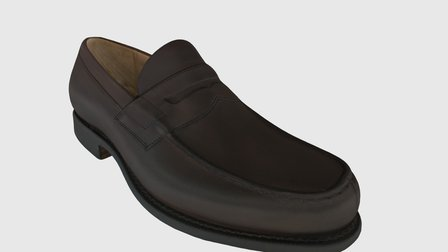 stylish shoe 3D Model