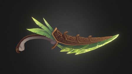 Dragonfeather Dagger 3D Model