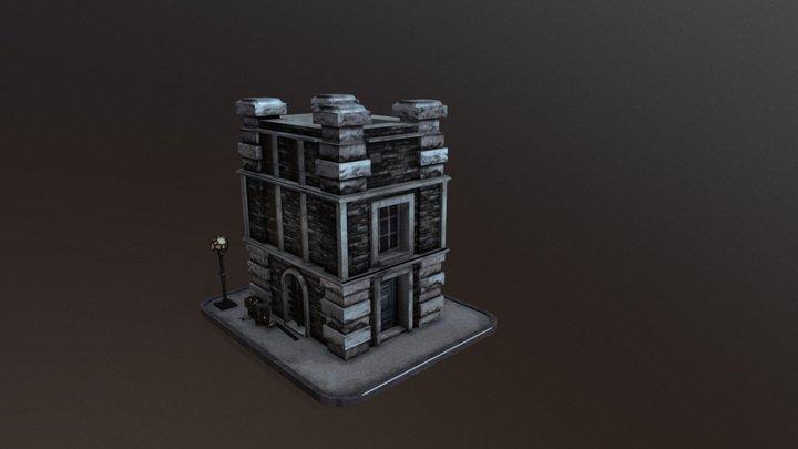 casa antigua 3D Model