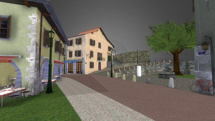 1DAE23 Pieter DS City Scene Annecy 2019 3D Model