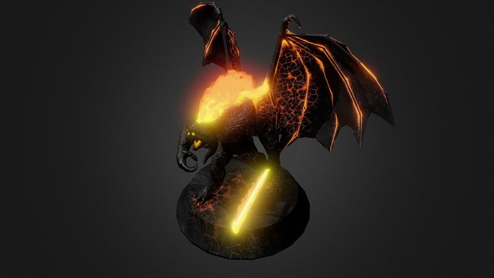 Balrog Of Morgoth 3D Model