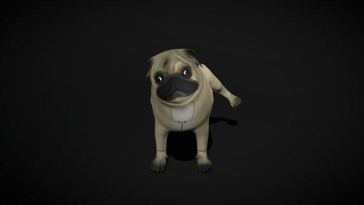 Pablito, the robotic pug 3D Model