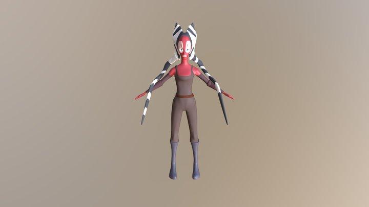 Shaak Ti 3D Model