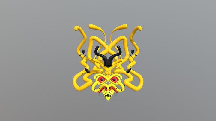 bird_mask_01 3D Model