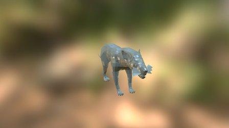 WWB Hyaenodon 3D Model