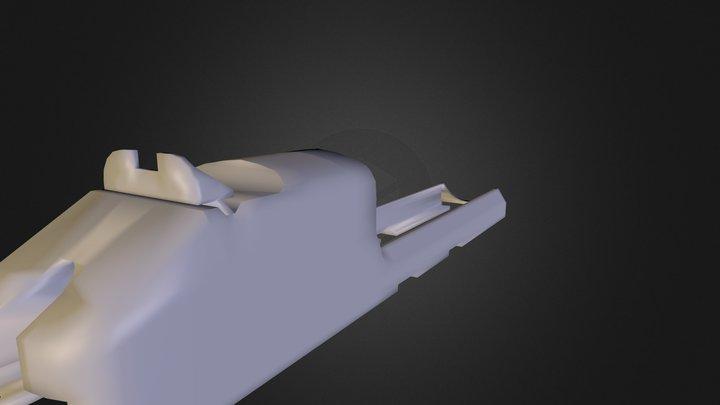 Pistol_NE_Lowpoly_Test 3D Model