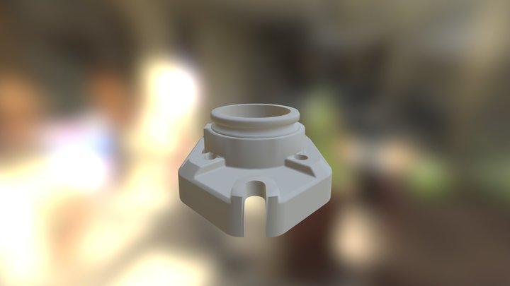 Cylindre Huile  3D Model