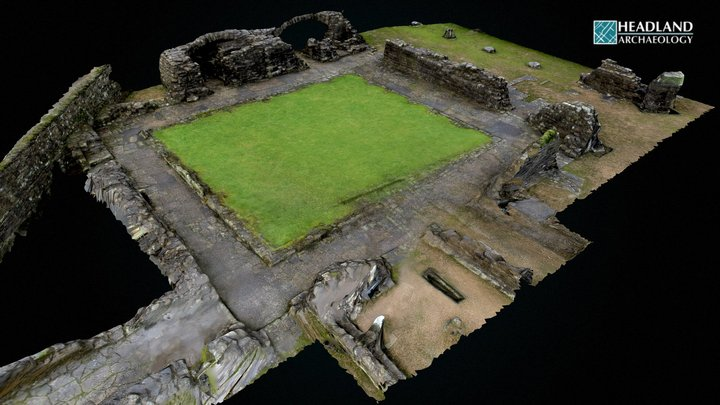 Shap Abbey, Penrith, Cumbria (SHAP) 3D Model