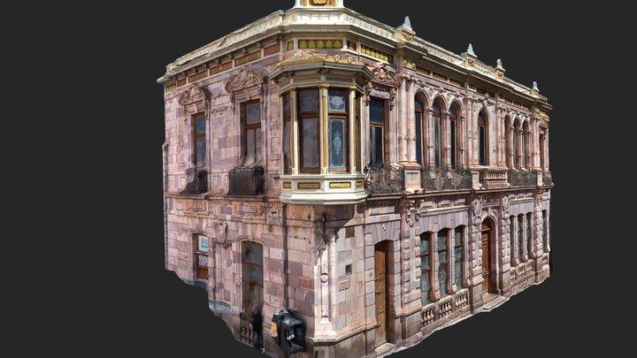 Casa francesa - Zacatecas 3D Model