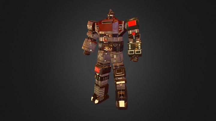 GODMARS 3D Model