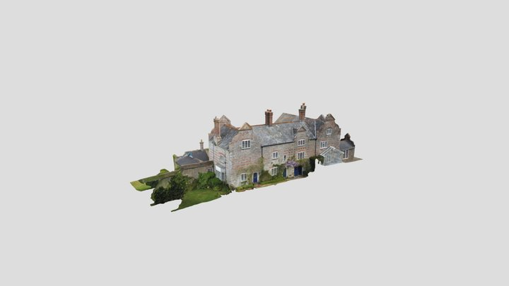 3D Survey of a Listed Building, South Wing 3D Model