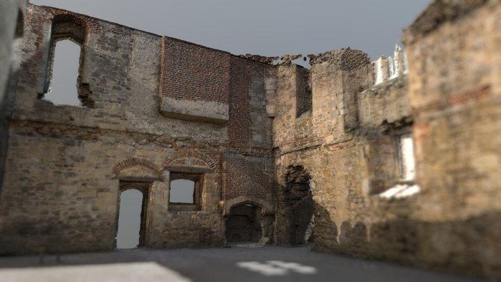Titchfiled Abbey Hall Interior 3D Model