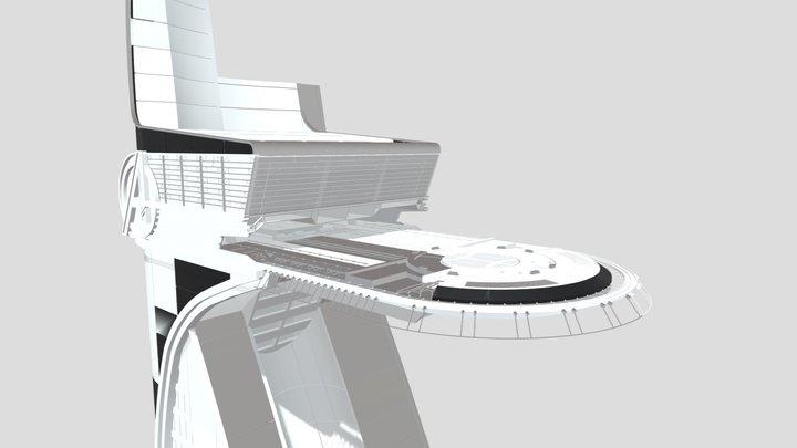 Avengers Tower 001 3D Model