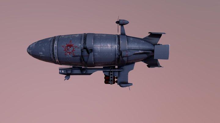 Zeppelin 3D Model