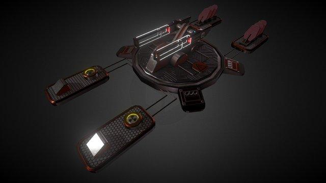 Aurora Battleship CWIS 3D Model