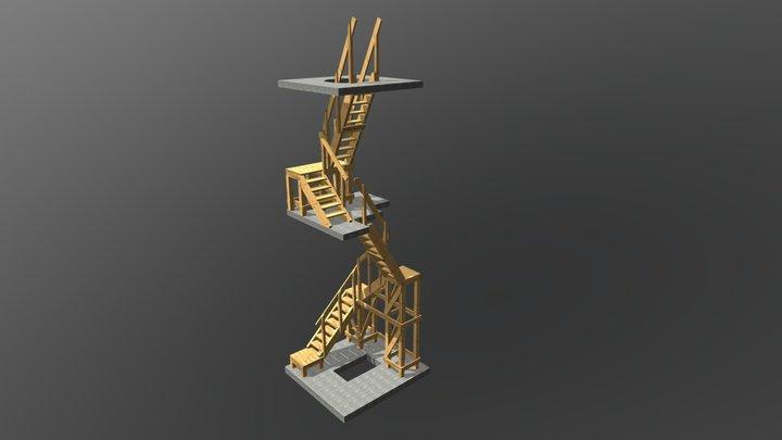 Soroksar_lepcso 3D Model