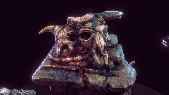 Spellforce 3 - Moon temple. 3D Model