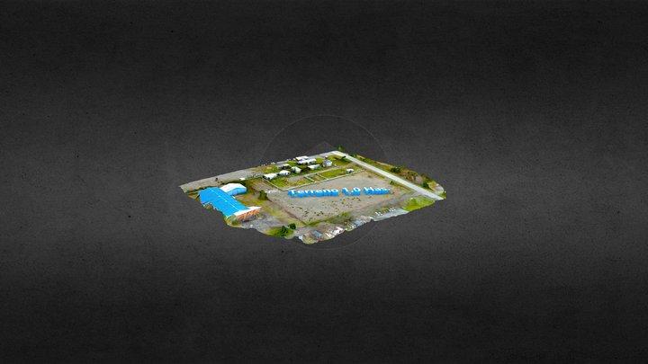 3D Terreno 1 Has. 3D Model