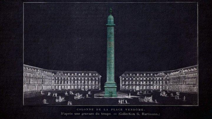 Colonne Vendôme 3D Model