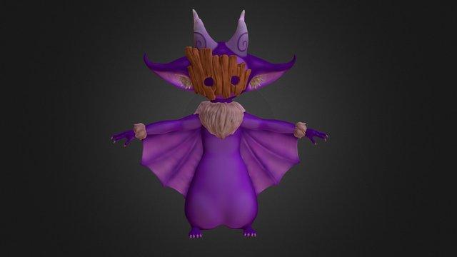 Bat Creature 3D Model