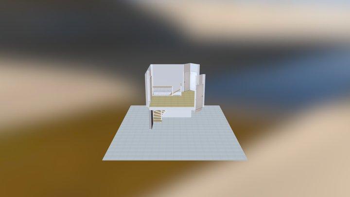 Asplund-Harju U-Trappa 3D Model