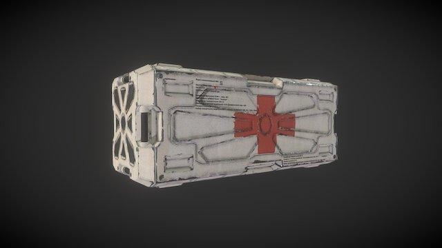 Medical Crate 3D Model
