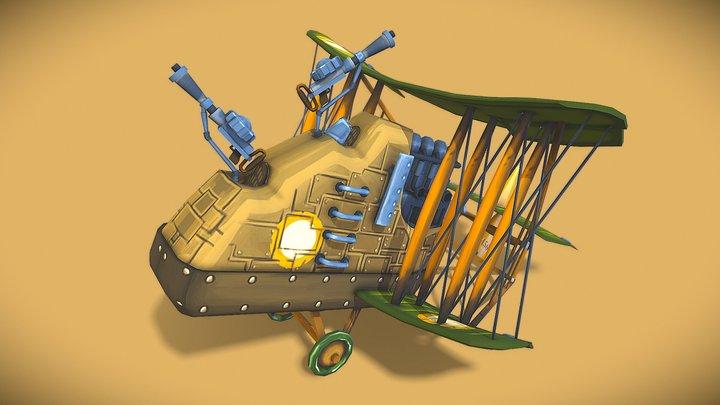It is Da plane 3D Model