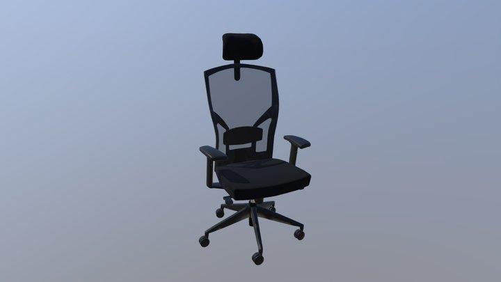 Valet Chair 3D Model