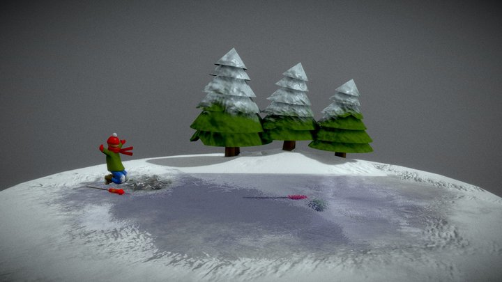 #Holiday2020Challenge 3D Model