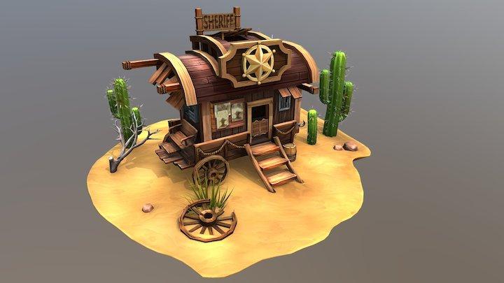 Sheriff's house 3D Model