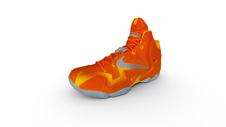 2013 - Lebron 11 3D Model